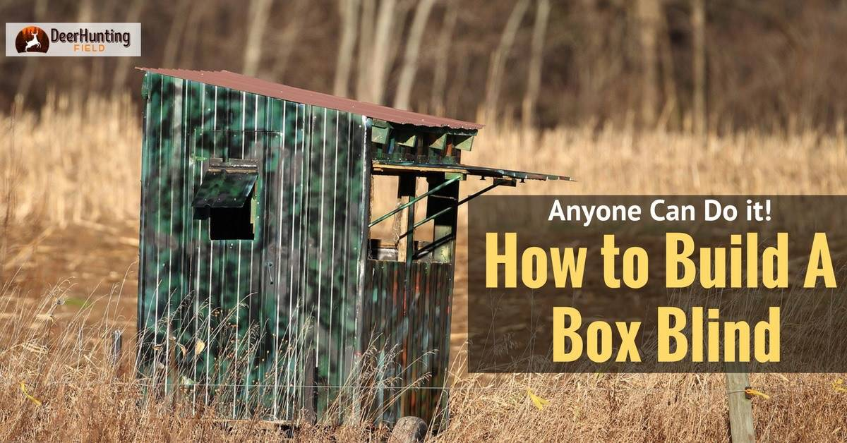 early setups blind box feature the for deer season bow blinds hunting outdoors muddy planning