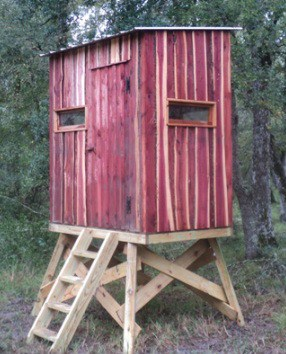 how-to-build-deer-blind-windows