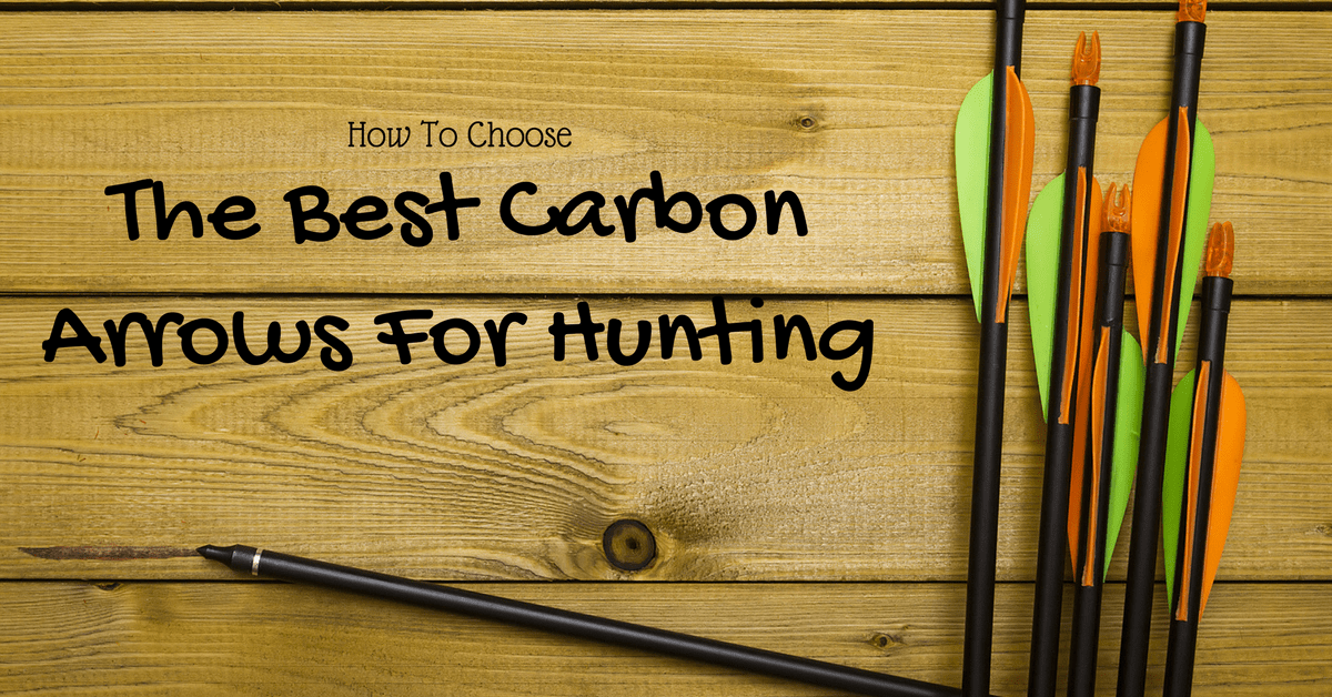 The Best Carbon Arrows For Hunting-