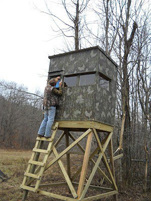 How To Build A Deer Blind - How To